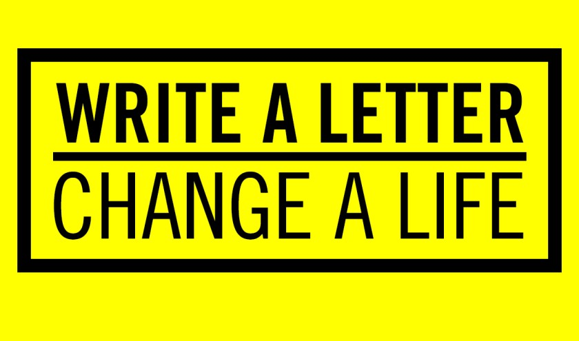 write a letter change a life
